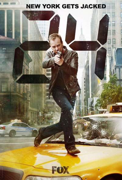 24 часа / 24 (8 сезон) (2010/HDTVRip)