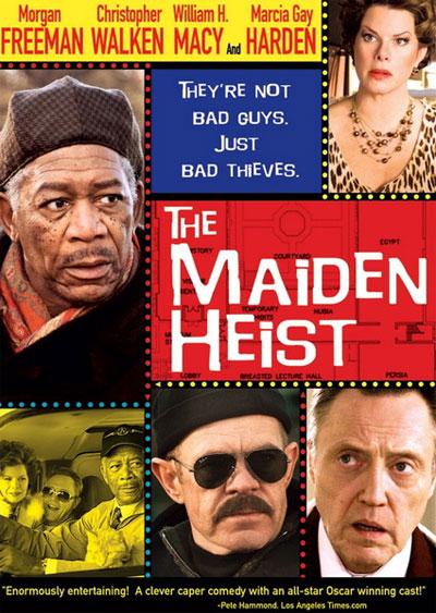 Кража в музее / The Maiden Heist (2009/HDRip)