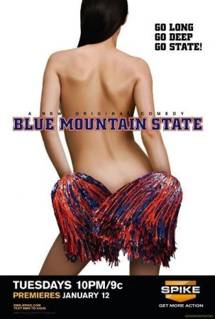 Штат Голубая Гора/ Blue Mountain State (2010) HDTVRip