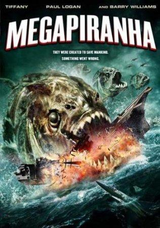 Мега пиранья / Mega Piranha (2010) DVDRip